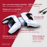 Lioncast PS5 Ladestation mit LED-Anzeige