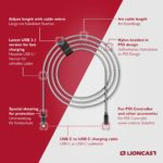 Lioncast PS5 Ladekabel 4m