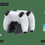 Lioncast PS5 Ladestation Quick Controller Charger schwarz