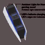 Lioncast PS5 Ladestation Quick Controller Charger schwarz/ weiß
