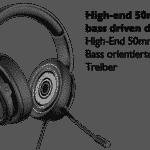 Lioncast LX40 USB Gaming Headset