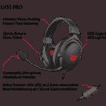 Lioncast LX55 Pro Gaming Headset