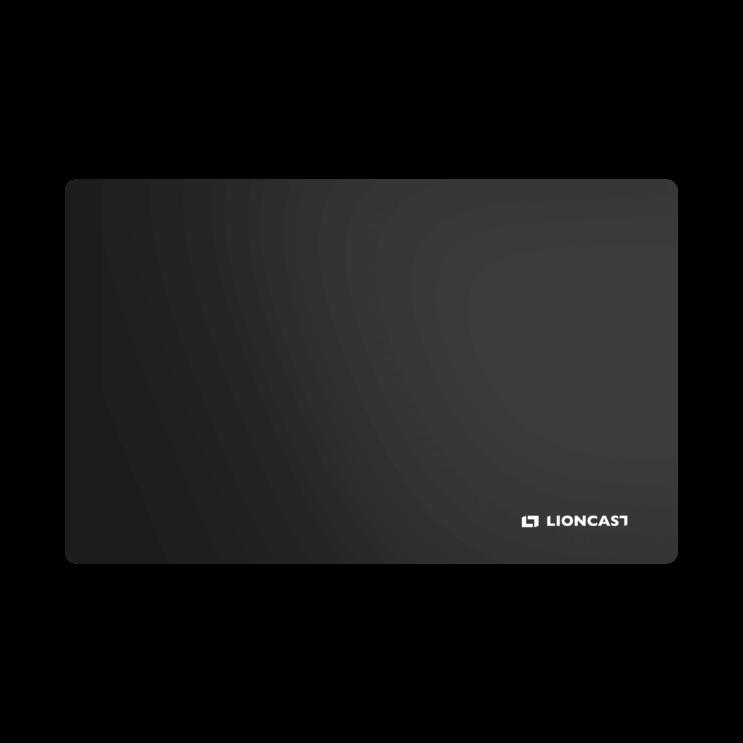 Lioncast Hades Black Gaming Mousepad
