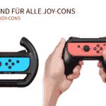 Lioncast Wheel + Grip Set for Joy-Con