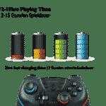 Lioncast Wireless Controller für Nintendo Switch