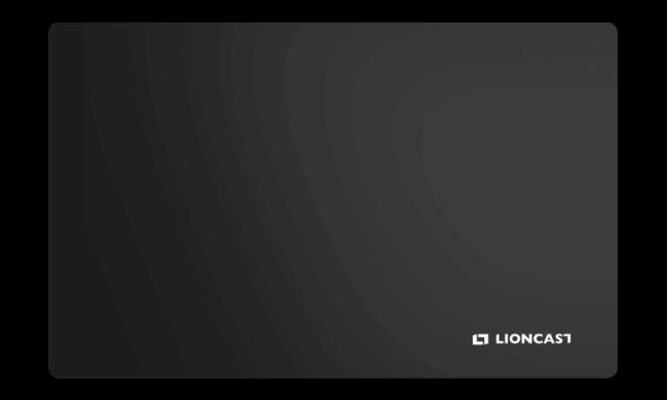 Lioncast Hades Black Gaming Mauspad