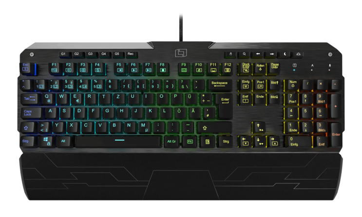 Lioncast LK300 RGB Gaming Keyboard (B-Stock)