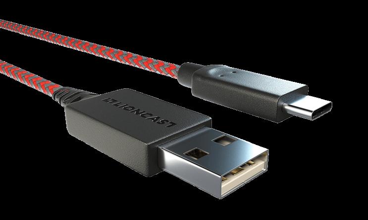Lioncast USB-C Charging cable 3m